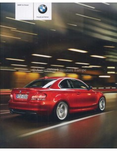 2009 BMW 1 SERIES COUPÉ BROCHURE GERMAN