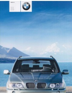 2003 BMW X5 BROCHURE GERMAN