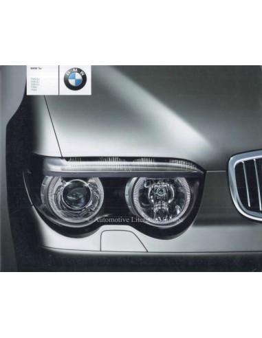 2002 BMW 7 SERIE  BROCHURE DUITS