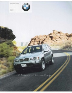 2000 BMW X5 BROCHURE DUTCH