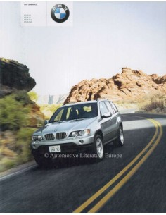 2001 BMW X5 BROCHURE ENGLISH
