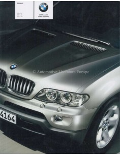 2003 BMW X5 BROCHURE DUTCH