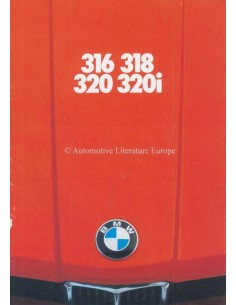 1976 BMW 3 SERIES BROCHURE DUTCH