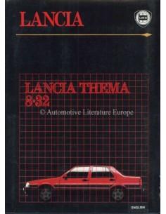 1986 LANCIA THEMA 8.32 PRESSEMAPPE ENGLISCH