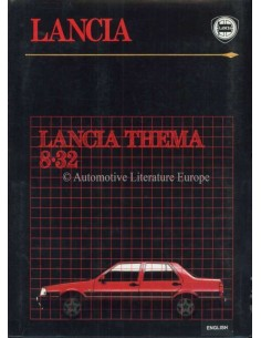 1986 LANCIA THEMA 8.32 PRESSKIT ENGLISH