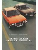 1975 BMW 3 SERIES BROCHURE DUTCH