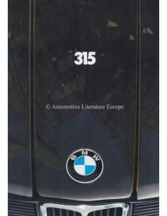 1981 BMW 3 SERIES BROCHURE DUTCH