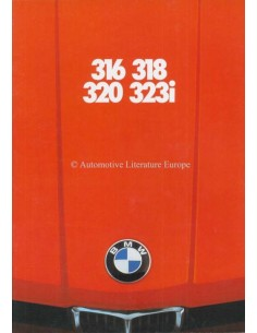 1977 BMW 3 SERIES BROCHURE DUTCH