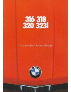 1977 BMW 3 SERIES BROCHURE DUTCH