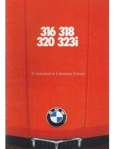 1979 BMW 3 SERIES BROCHURE DUTCH