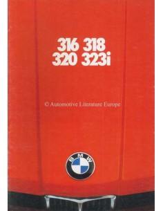 1979 BMW 3 SERIES BROCHURE DUTCH