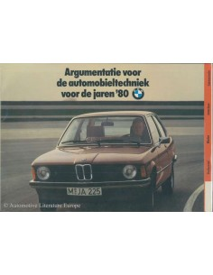 ~1979 BMW 3 SERIE BROCHURE NEDERLANDS