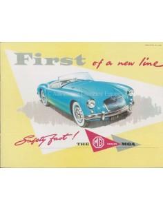 1966 MG MGB GT PROSPEKT ENGLISCH
