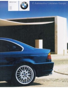 2000 BMW 3 SERIES COUPÉ BROCHURE GERMAN