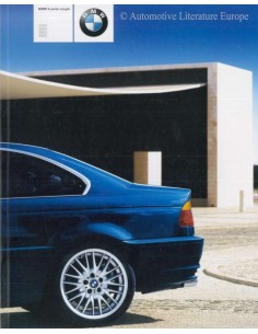 2000 BMW 3 SERIES COUPÉ BROCHURE DUTCH