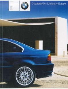 2001 BMW 3 SERIES COUPÉ BROCHURE DUTCH
