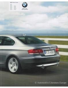 2008 BMW 3ER COUPÉ PROSPEKT NIEDERLÄNDISCH