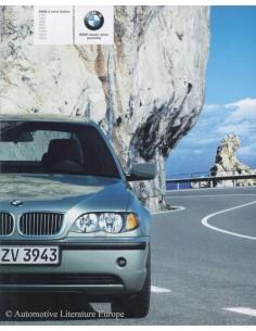 2003 BMW 3 SERIES LIMOUSINE BROCHURE DUTCH