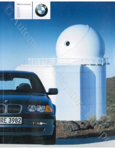 2000 BMW 3 SERIES LIMOUSINE BROCHURE GERMAN