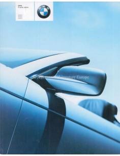 2000 BMW 3ER CABRIO PROSPEKT NIEDERLANDISCH