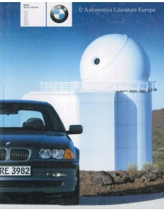 2001 BMW 3 SERIES LIMOUSINE BROCHURE FRENCH