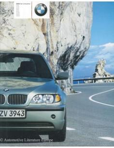 2002 BMW 3ER LIMOUSINE PROSPEKT DEUTSCH