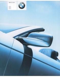 2001 BMW 3 SERIES CONVERTIBLE BROCHURE GERMAN