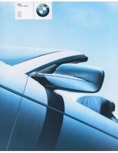 2001 BMW 3 SERIES CONVERTIBLE BROCHURE DUTCH
