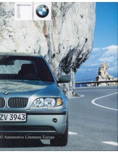 2003 BMW 3 SERIES LIMOUSINE BROCHURE GERMAN