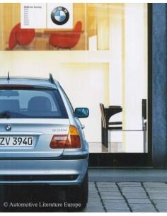 2003 BMW 3ER TOURING PROSPEKT DEUTSCH