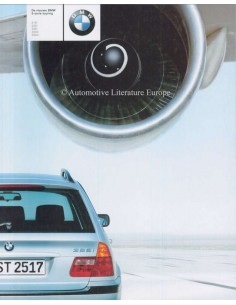 1999 BMW 3 SERIES TOURING BROCHURE DUTCH
