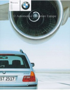 2000 BMW 3 SERIES TOURING BROCHURE GERMAN