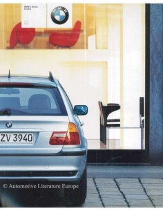 2002 BMW 3 SERIES TOURING BROCHURE JAPANESE