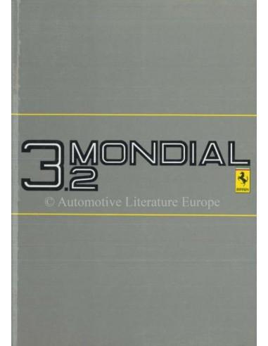 1985 FERRARI 3.2 MONDIAL INSTRUCTIEBOEKJE 377/85
