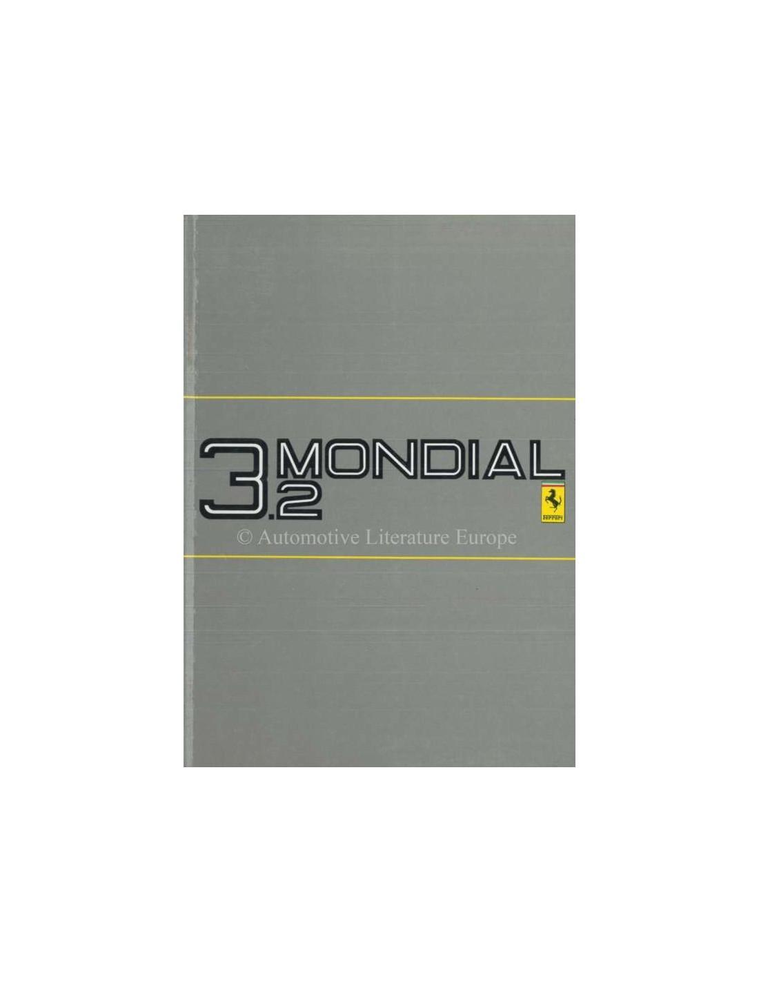 ferrari mondial service manual 1987 ferrari 3 2 mondial owner 39 s manual 474 87 purchase. Black Bedroom Furniture Sets. Home Design Ideas