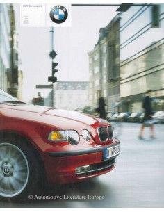 2002 BMW 3 SERIES COMPACT BROCHURE GERMAN