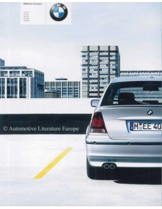 2003 BMW 3 SERIES COMPACT BROCHURE GERMAN