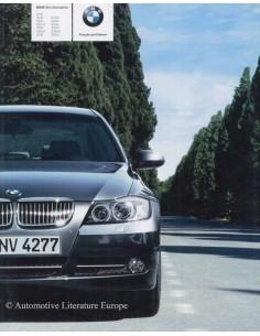 2006 BMW 3 SERIES LIMOUSINE BROCHURE GERMAN