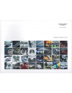 2012 ASTON MARTIN RANGE BROCHURE FRENCH