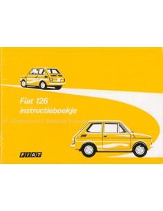 1973 FIAT 126 BETRIEBSANLEITUNG NIEDERLÄNDISCH