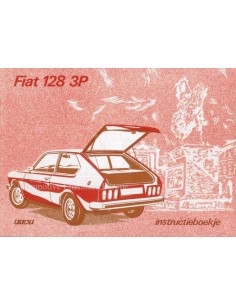1975 FIAT 128 3P OWNERS MANUAL DUTCH