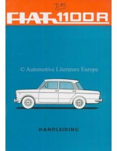 1966 FIAT 1100R OWNERS MANUAL DUTCH