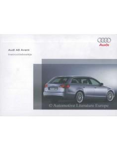2006 AUDI A6 AVANT OWNERS MANUAL DUTCH