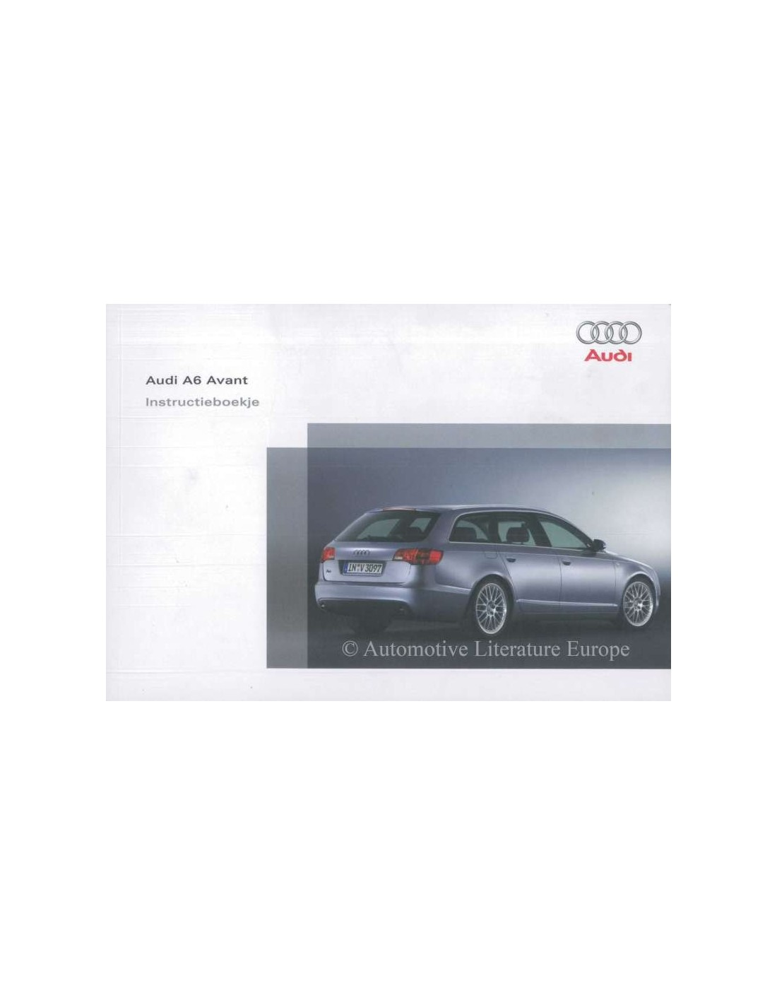 2006 audi a6 avant owners manual dutch rh autolit eu audi a6 c5 car manual Audi A6 Manual PDF