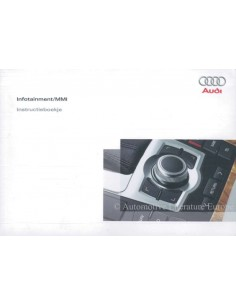 2006 AUDI OWNERS MANUAL INFOTAINMENT MMI DUTCH