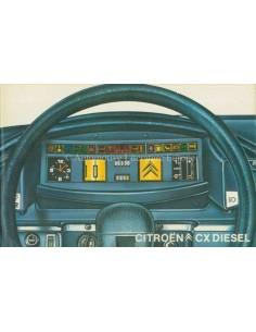 1979 CITROEN CX DIESEL BETRIEBSANLEITUNG NIEDERLÄNDISCH