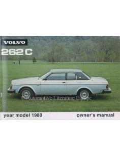 1980 VOLVO 262 C BETRIEBSANLEITUNG ENGLISCH