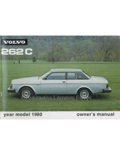 1980 VOLVO 262 C OWNERS MANUAL ENGLISH