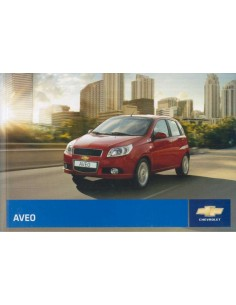 2009 CHEVROLET AVEO OWNERS MANUAL ITALIAN