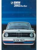 1974 BMW 2002 TURBO PROSPEKT NIEDERLÄNDISCH